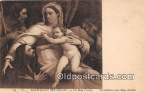 Religion Postcard Holy Family Sebastiano Del Piombo