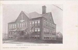 Massachusetts Haverhill Thomas E Burnham School