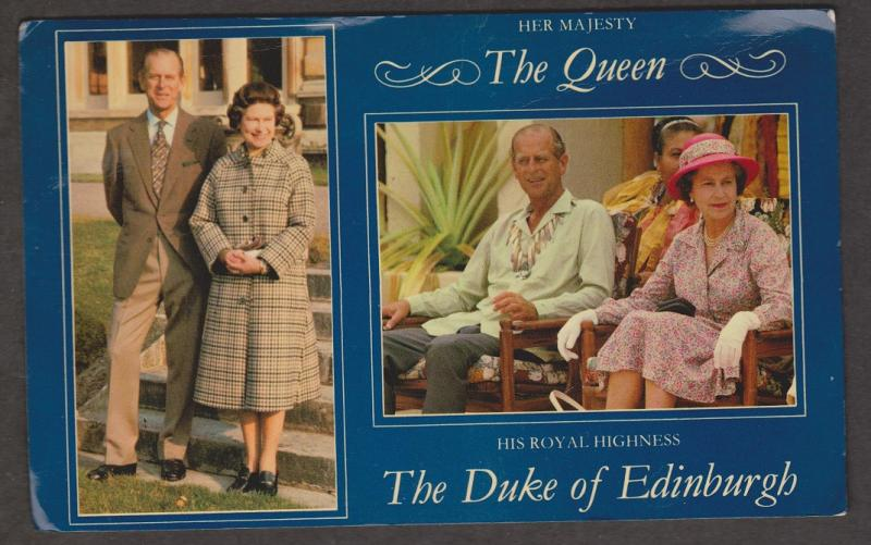 UK Queen Elizabeth II and Prince Philip
