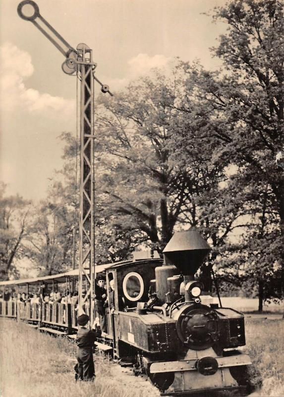 BR88775 cottbus pionierelsenbahn germany real photo train railway