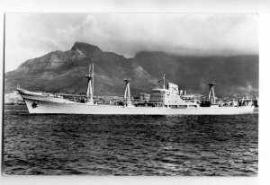 cb0830 - Swiss Cargo Ship - Corviglia , built 1958 - postcard