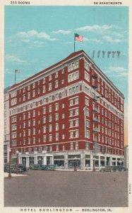 BURLINGTON , Iowa , 1910s ; Hotel Burlington