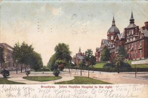Broadway, Johns Hopkons Hospital, Baltimore, Maryland, PU-1906