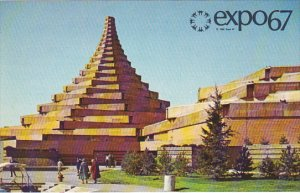 Man In The Community And Man And His Health Complex Expo 67 Montreal Canada