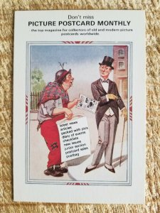 RARE VTG PICTURE POSTCARD MONTLY*P57