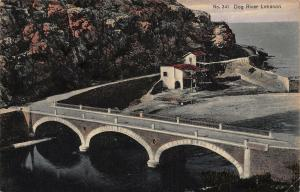 Lebanon Dog River Bridge Postcard