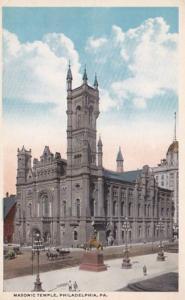 Pennsylvania Philadelphia Masonic Temple Curteich
