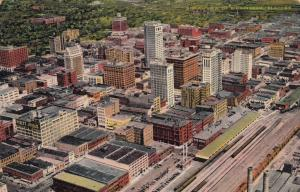 BIRMINGHAM , Alabama , 1930-40s; Aerial View of the City # 2