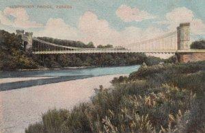 Forres , Scotland , 00-10s ; Suspension Bridge