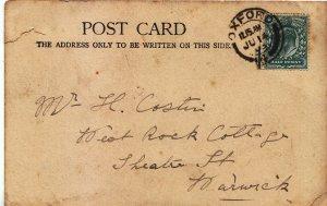 Genealogy Postcard - Family History - Costin - Theatre Street - Harwick   BH676