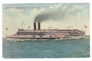Oceanliner/Steamer, Steamer Commonwealth, Fall River Line, 1900-1910s