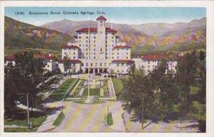 Colorado Colorado Springs Broadmoor Hotel