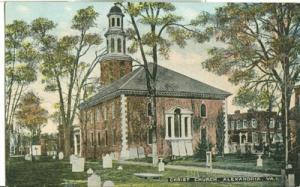 Christ Church, Alexandria, Va, early 1900s unused Postcard