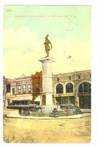 Morgan Monument, Spartanburg, South Carolina, PU-1913