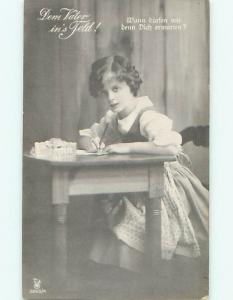 Divided-Back CHILDREN SCENE Great Postcard AA6003