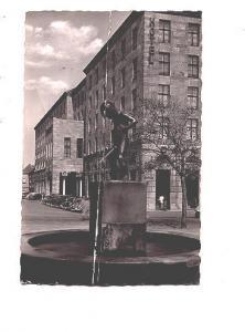 B&W Photo, Fountain. Boy Peeing, Duisburg, Germany