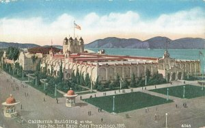 Postcard California Building at the Pan-Pac Int. Expo., San Francisco, CA ME3.