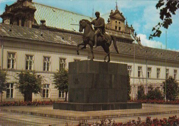 Poland Warsaw Pomnik ksiecia Jozefa Poniatowskiego