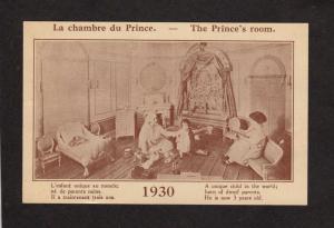 QC Midgets Palace Nains Montreal Quebec Canada CARD Nicol (Not a Postcard)