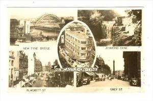 RP, 5Views, New Tyne Bridge, Jesmond Dene, Blackett St., Grey St., Newcastle-...