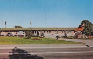 Cloverleaf Motel , COBOURG , Ontario , Canada , PU-1989