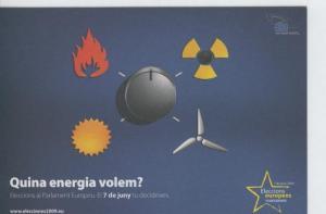 Postal 6611 : Publicitaria elecciones al parlamento europeo