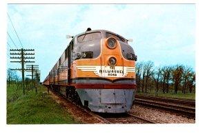 Railway Locomotive Train, Milwaukee Road, Chicago