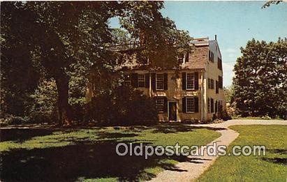 Squire Edmund Quincy Quincy, Massachusetts USA Political Postcard Post Card Q...