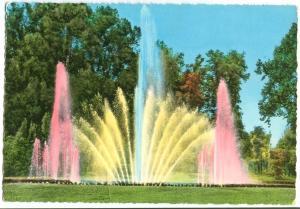 Italy, TORINO, Parco del Valentino e Nuova Fontana luminosa, used Postcard