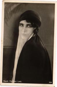 CPA Egypte  - Patrician Lady (212883)