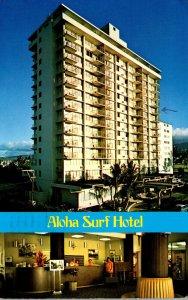 Hawaii Waikiki The Aloha Surf Hotel 1982