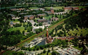 New York Rochester Aerial View Of The University Of Rochester Campus 1960