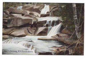 North Conway NH Diana's Baths Leighton c 1910