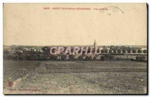 Postcard Old Saint Trivier sur Moignans Vue Generale