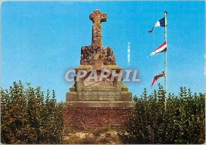 Postcard Modern Crecy in Ponthieu (Somme) Cross Elevee has the Memory of John...