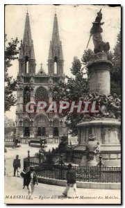 Postcard Old Marseille Church of Reforms and monuments of Mobiles