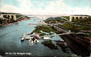 New York City Washington Bridge 1906