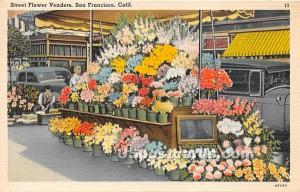 Street Flower Venders