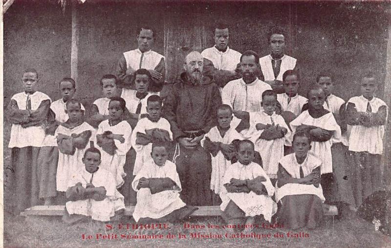 Ethiopia contrees Galla - e Mission Catholique du Galla, Petit Seminair