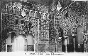 Spain Sevilla, Alcazar, Salon de Embajadores