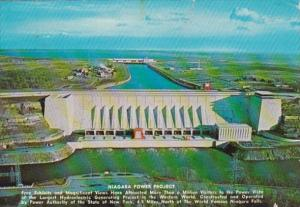 New York St Lawrence Dam 1973