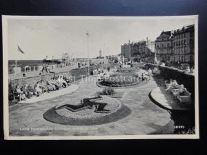 Isle of Man: Douglas LOCH PROMENADE GARDENS - Old Postcard by Norris