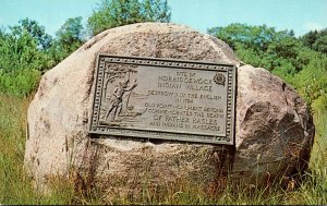 Maine Madison Memorial Site Of Norridgewock Indian Village Destroyed By The E...