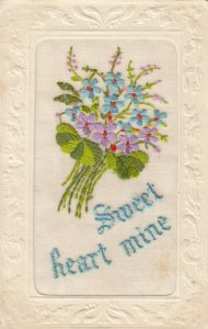EMBROIDERED, 1900-10s; Sweet Heart Mine
