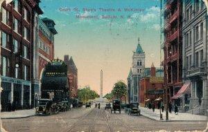 USA Court St. Shea's Theatre & Mckinley Monument Buffalo New York 05.04