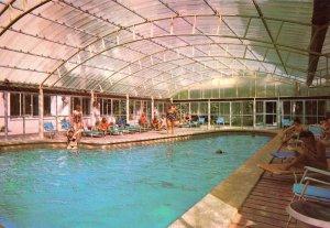 Swimming Pool at Hotel Las Arenas Mallorca 1970s Postcard