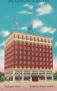 Illinois Waukegan The Karcher Hotel