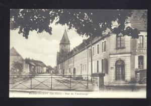 HARSKIRCHEN BAS RHIN RUE DE FENETRANGE GERMANY ANTIQUE VINTAGE POSTCARD