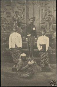 indonesia, BALI, Native Balinese Types (ca. 1910)