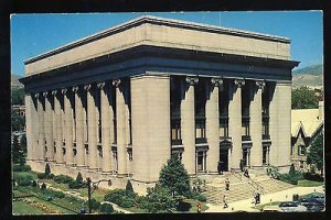 Salt Lake City, Utah/UT Postcard, L. D. S. Church Office Building, 1950's?